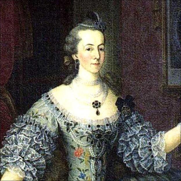 Dona Leonor Daun Condessa de Oeiras e Marquesa de Pombal CROP